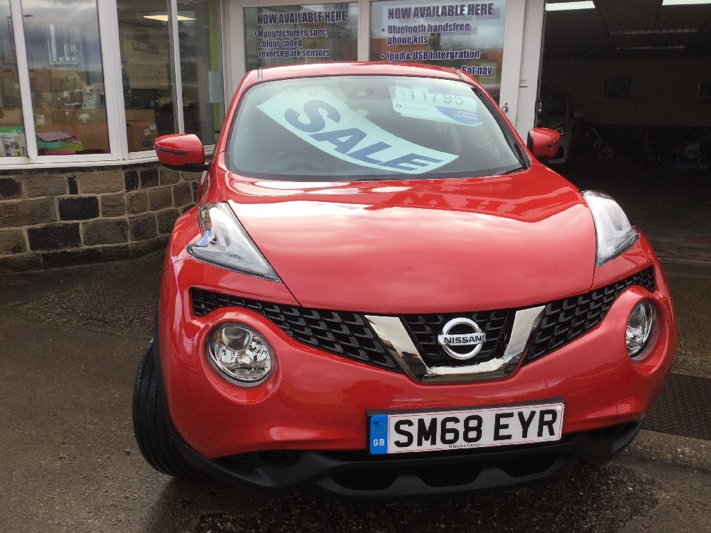 Used Red Nissan Juke For Sale South Yorkshire