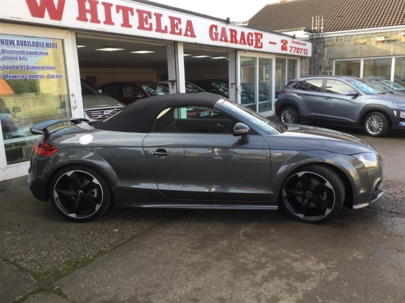 used Audi TT TFSI QUATTRO BLACK EDITION in sheffield-south-yorkshire