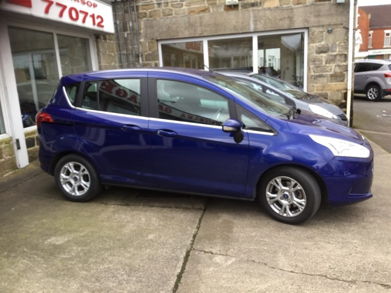 used Ford B-Max ZETEC in sheffield-south-yorkshire