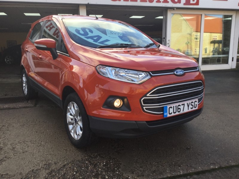 used Ford EcoSport ZETEC in sheffield-south-yorkshire