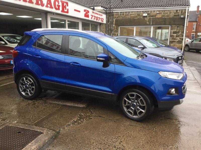 used Ford EcoSport TITANIUM TDCI in sheffield-south-yorkshire