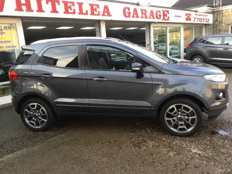 used Ford EcoSport TITANIUM in sheffield-south-yorkshire