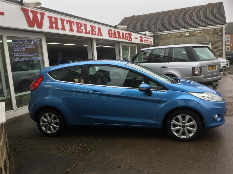 used Ford Fiesta ZETEC in sheffield-south-yorkshire