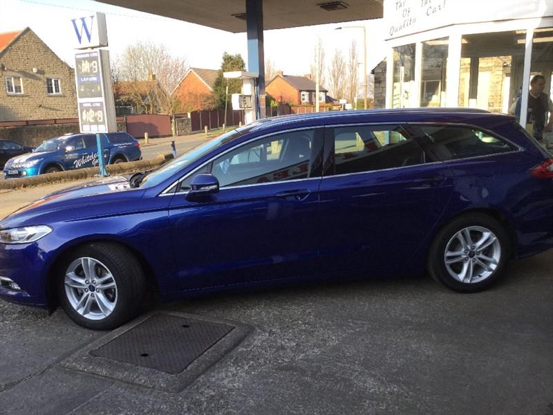 Used Deep Impact Blue Ford Mondeo For Sale South Yorkshire