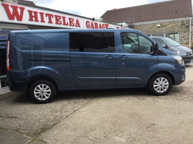 used Ford Transit Custom 320 LIMITED DCIV ECOBLUE in sheffield-south-yorkshire