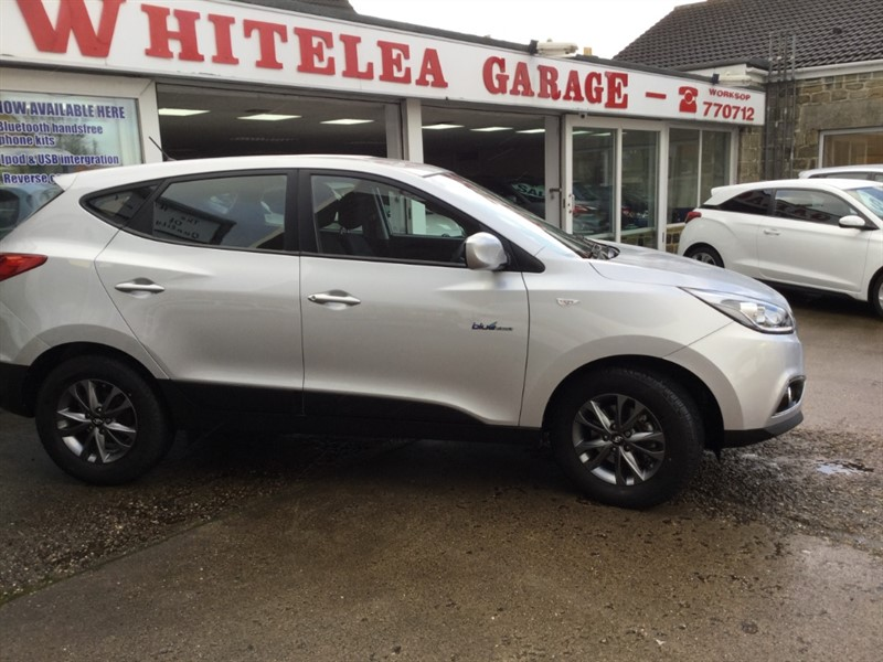 used Hyundai ix35 GDI S BLUE DRIVE in sheffield-south-yorkshire