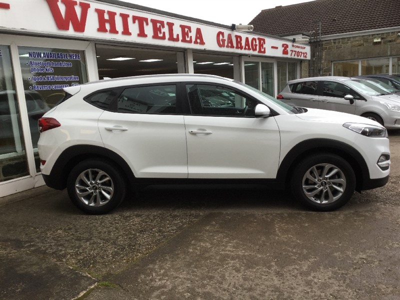 used Hyundai Tucson CRDI SE BLUE DRIVE in sheffield-south-yorkshire