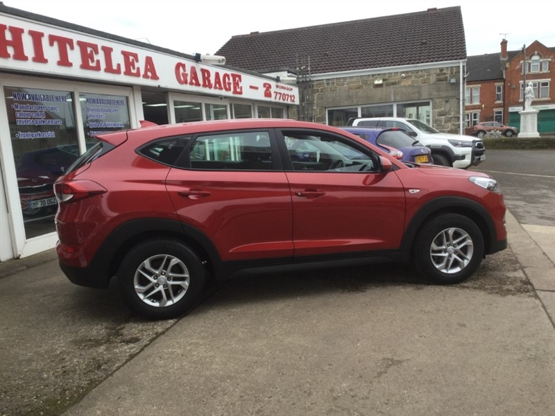 used Hyundai Tucson CRDI S BLUE DRIVE in sheffield-south-yorkshire