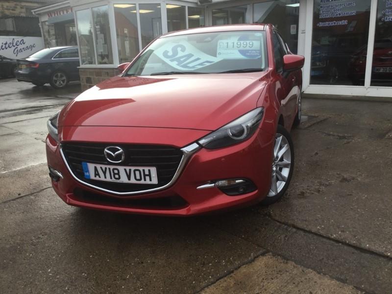used Mazda Mazda3 SPORT NAV in sheffield-south-yorkshire