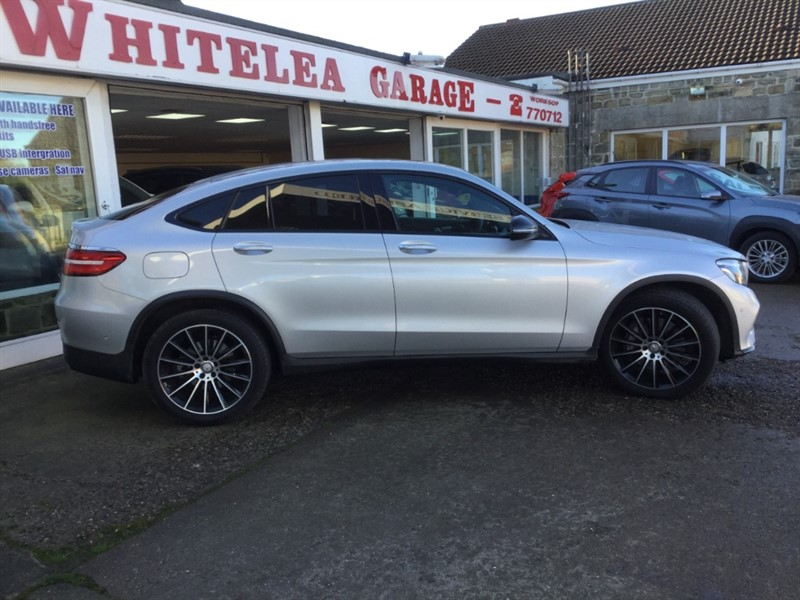 used Mercedes 220 GLC  D 4MATIC AMG LINE PREMIUM in sheffield-south-yorkshire