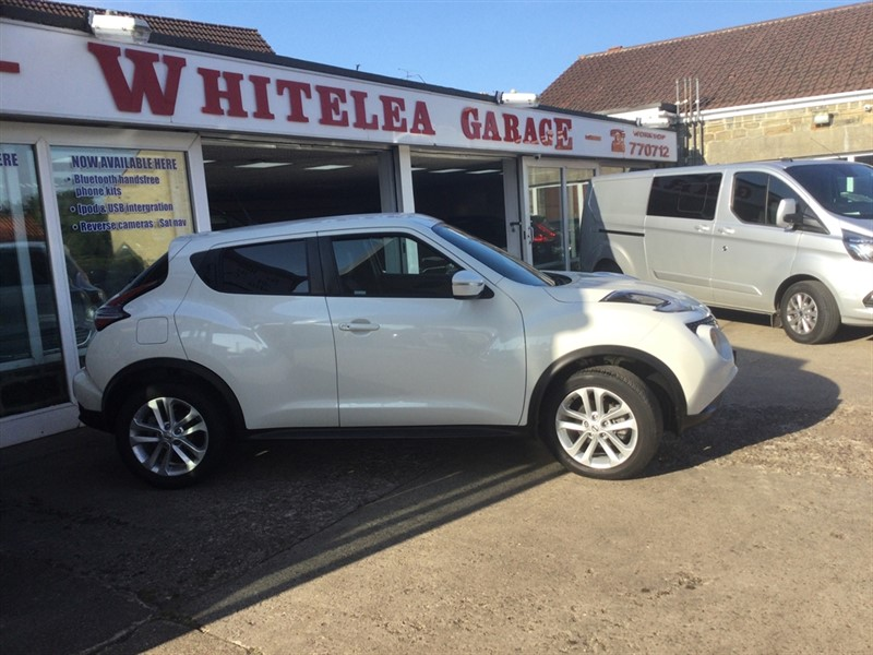 used Nissan Juke N-CONNECTA XTRONIC in sheffield-south-yorkshire