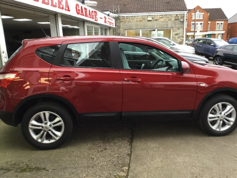 used Nissan Qashqai DCI ACENTA in sheffield-south-yorkshire