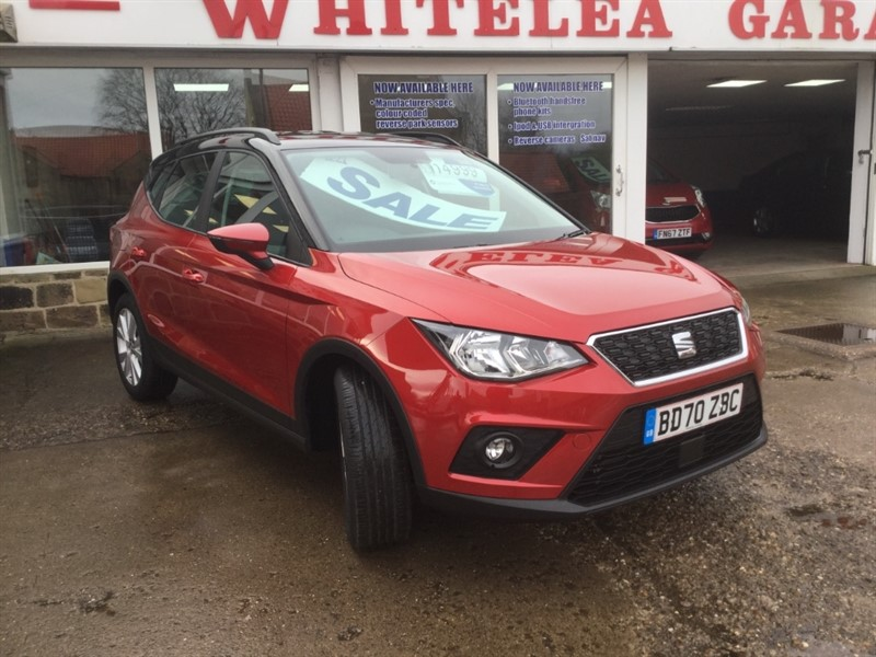 used SEAT Arona TSI SE TECHNOLOGY DSG in sheffield-south-yorkshire