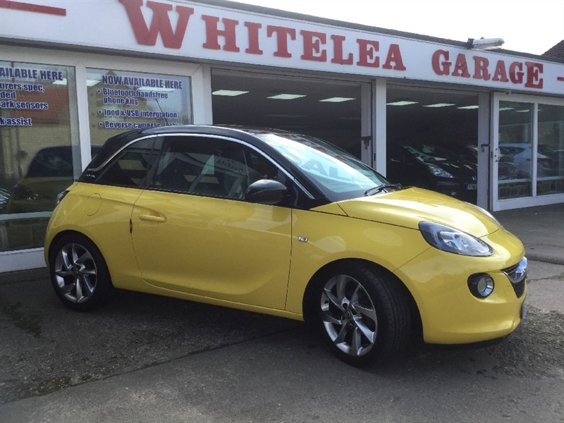 used Vauxhall Adam SLAM in sheffield-south-yorkshire