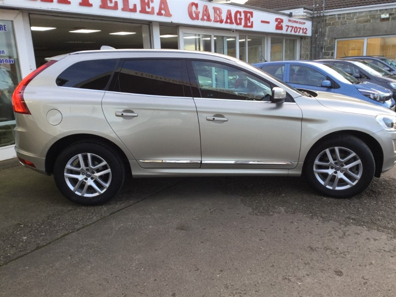 used Volvo XC60 D4 SE LUX NAV AWD in sheffield-south-yorkshire