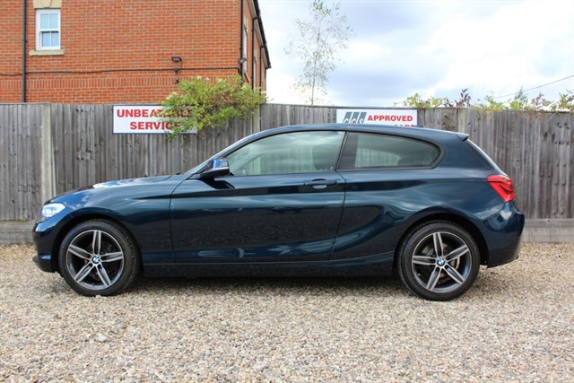 used BMW 118d SPORT (NEW SHAPE) in thatcham-berkshire