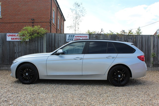 used BMW 320d SE TOURING AUTO (BIG SPEC) in thatcham-berkshire