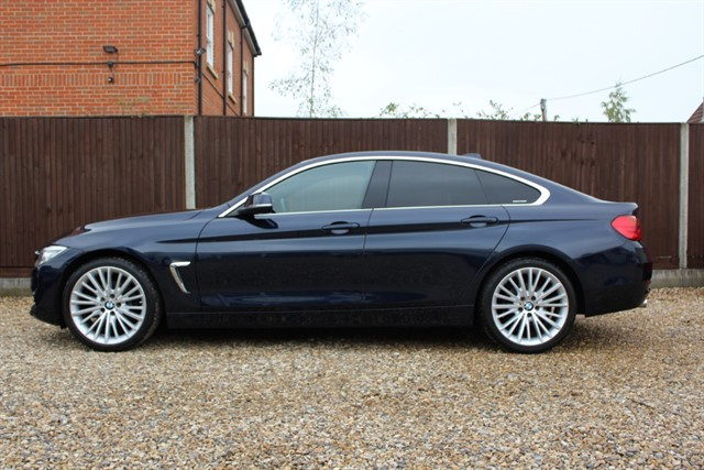 used BMW 420d LUXURY GRAN COUPE AUTO in thatcham-berkshire