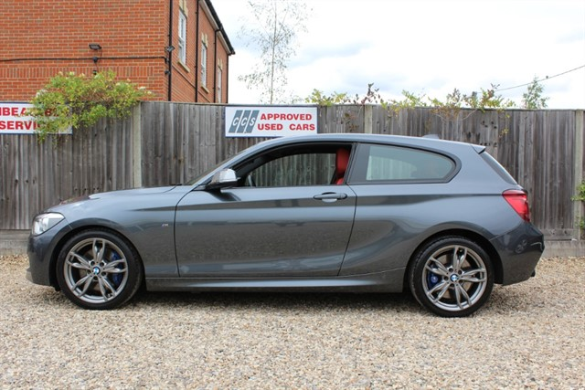used BMW M135i AUTO (RED LEATHER) in thatcham-berkshire