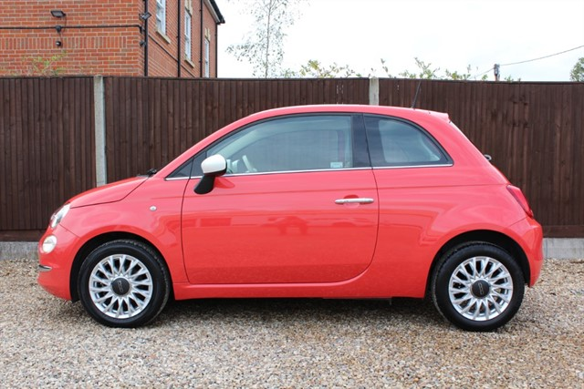 used Fiat 500 LOUNGE (PINK) in thatcham-berkshire