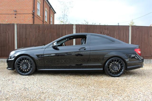 used Mercedes C63 AMG V8 (BLACK ON BLACK) in thatcham-berkshire
