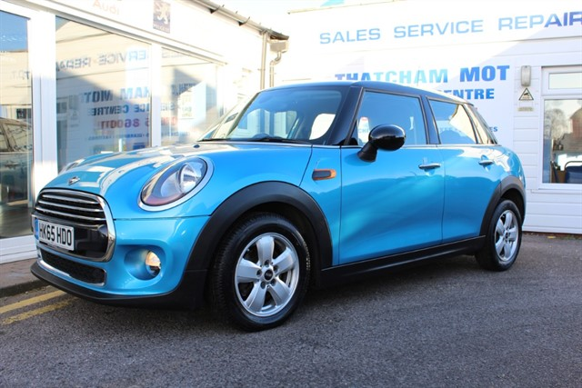 used MINI Hatch COOPER D ELECTRIC BLUE in thatcham-berkshire