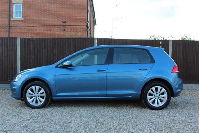 used VW Golf SE TDI BLUEMOTION TECH in thatcham-berkshire