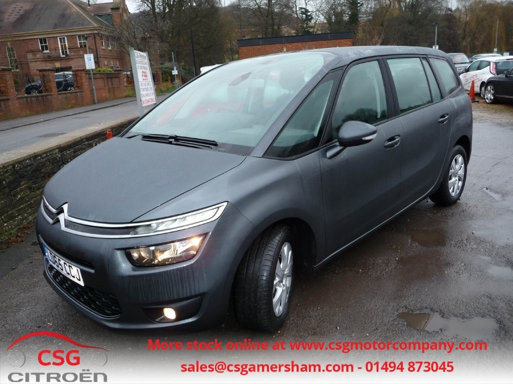 citroen gray 7 seater grey citroen c4 grand picasso in bletchley buckinghamshire gumtree. Black Bedroom Furniture Sets. Home Design Ideas