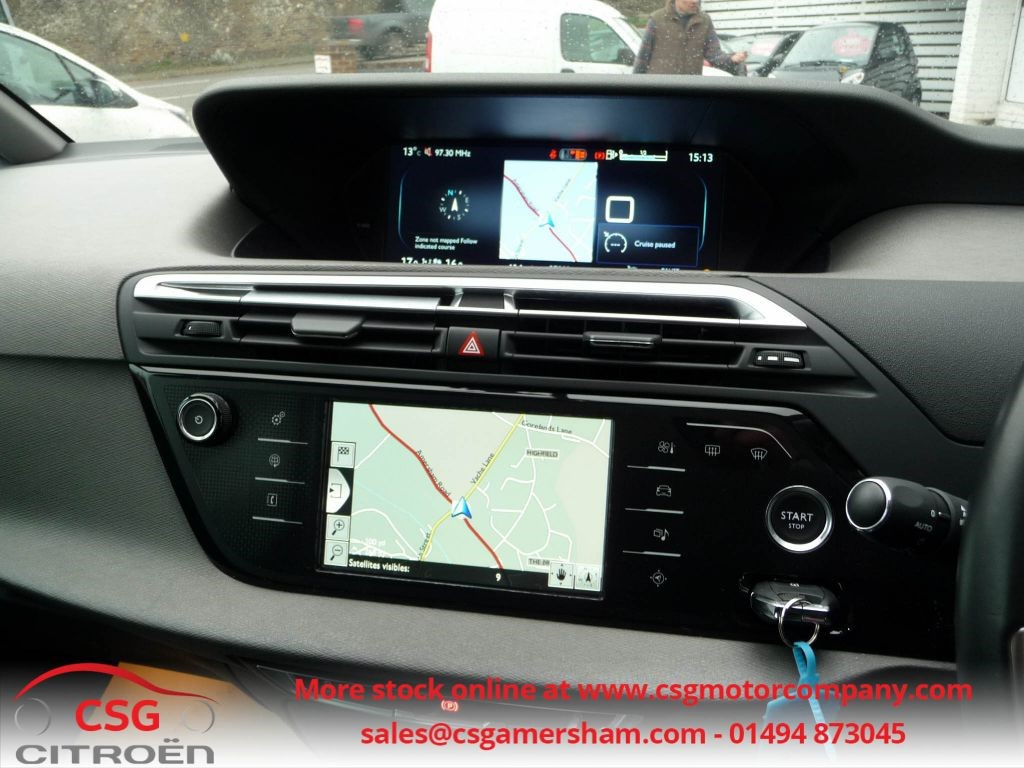 used teles blue citroen grand c4 picasso for sale buckinghamshire. Black Bedroom Furniture Sets. Home Design Ideas