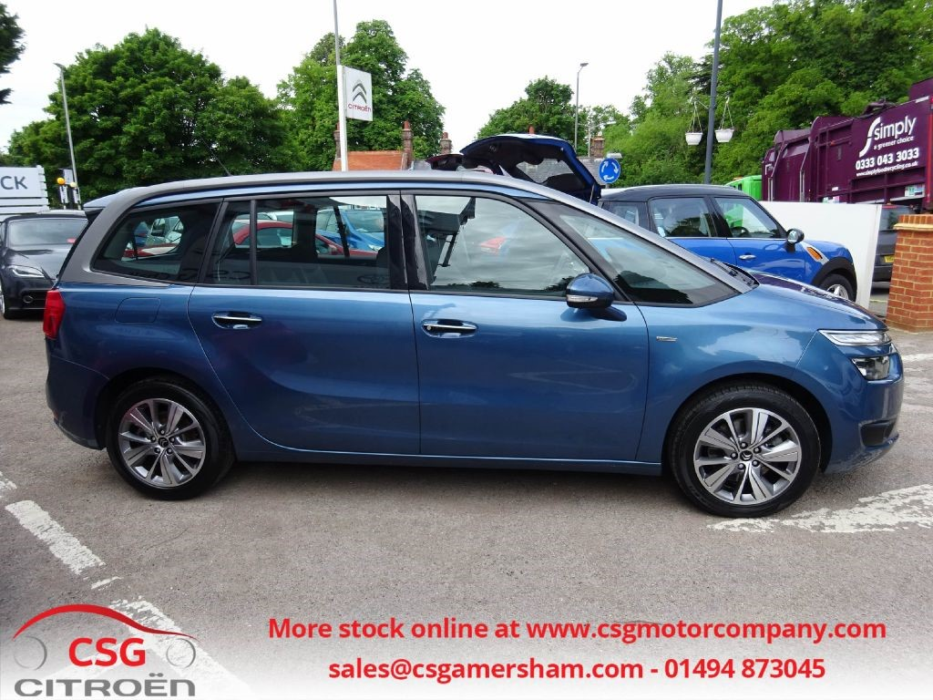 used kyanos blue citroen grand c4 picasso for sale buckinghamshire. Black Bedroom Furniture Sets. Home Design Ideas