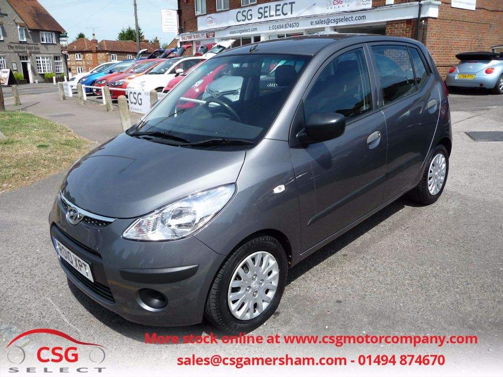 Used Grey Hyundai I10 For Sale Buckinghamshire