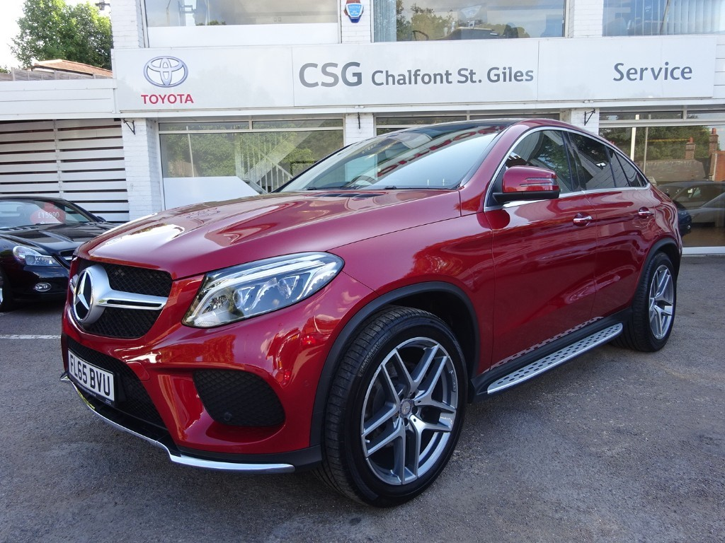 Used Hyacinth Red Mercedes Gle350 For Sale Buckinghamshire