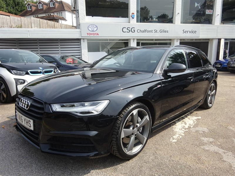 used Audi A6 Avant AVANT TDI QUATTRO S LINE BLACK EDITION - TECH PACK - SAT NAV -H/SEATS in amersham