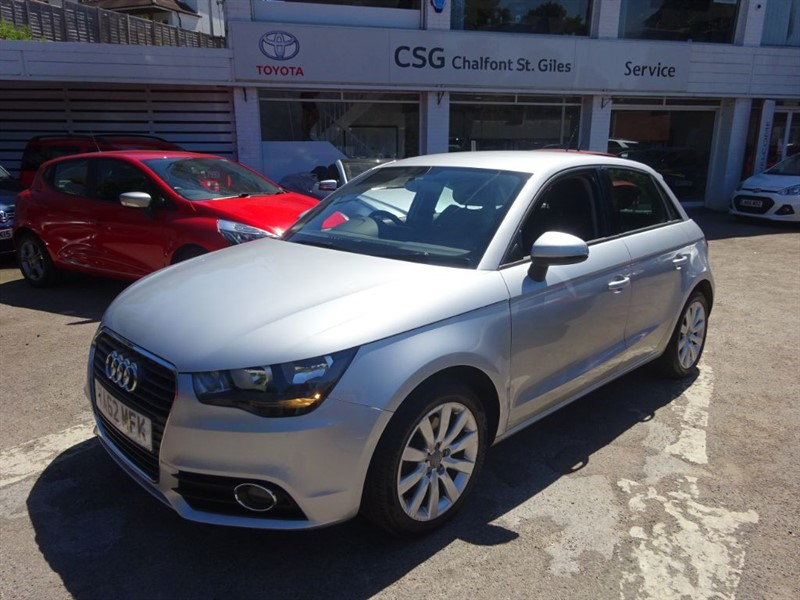 used Audi A1 SPORTBACK TDI SPORT - SAT NAV - ZERO TAX -BLUETOOTH in amersham