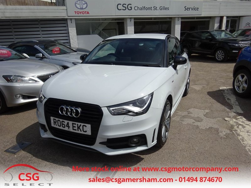 used Audi A1 TFSI S LINE STYLE EDITION - FASH - NAV - BLUETOOTH - DAB in amersham