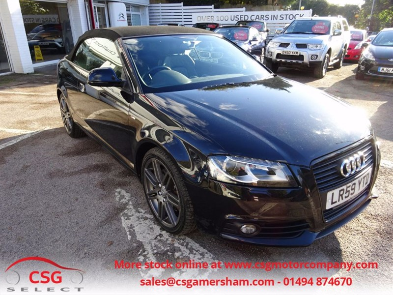 used Audi A3 TFSI S LINE SPECIAL EDITION S- LINE BLACK EDITION in amersham