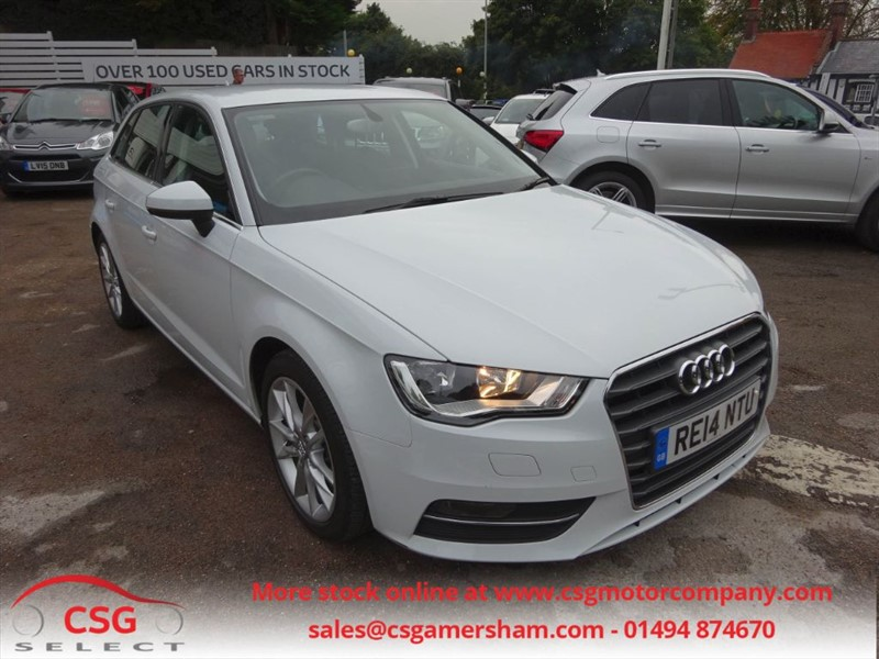 used Audi A3 TDI SPORT - FASH - SAT NAV - CLIMATE - AUTO LIGHTS/WIPERS in amersham
