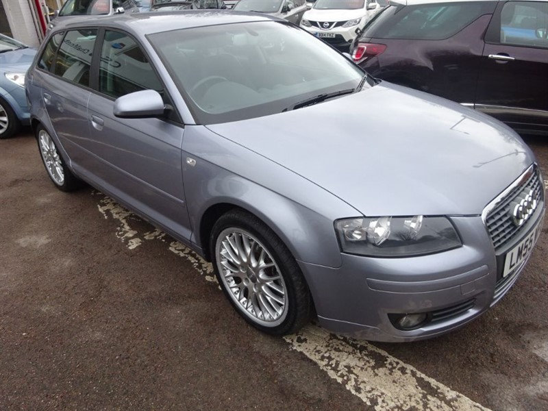 used Audi A3 T FSI SPORT - 1/2 LEATHER -R/SENSORS - CLIMATE - ALLOYS in amersham