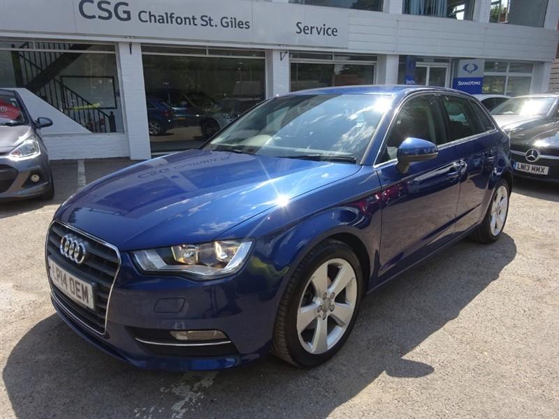 used Audi A3 TDI SPORT - CLIMATE CONTROL -BLUETOOTH - FASH -£20.00 TAX in amersham