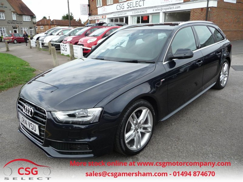 used Audi A4 Avant TDI QUATTRO S LINE - ONE OWNER - FASH - NAV - TECH PACK in amersham