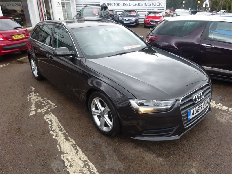 used Audi A4 Avant TDI SE TECHNIK - SAT NAV - LEATHER - FASH - E/BOOT in amersham