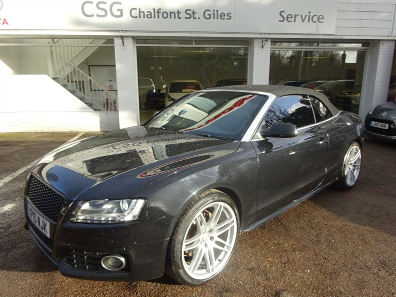 used Audi A5 TDI QUATTRO S LINE - SAT NAV - H/LEATHER - FASH in amersham