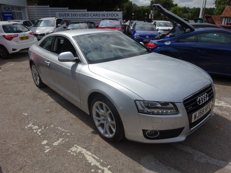 used Audi A5 TDI QUATTRO SPORT - SAT NAV - H/LEATHER - B&O SOUND - BLUETOOTH in amersham