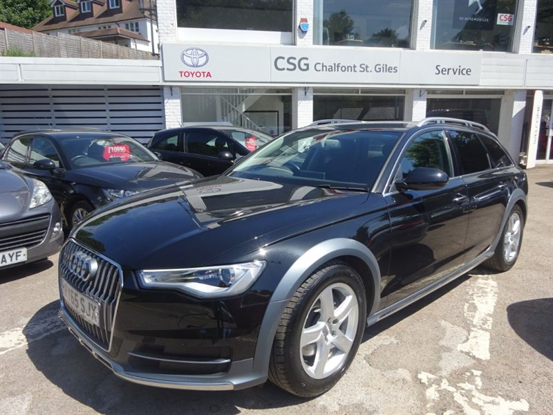 used Audi A6 allroad TDI QUATTRO - SAT NAV - H/LEATHER - FSH in amersham