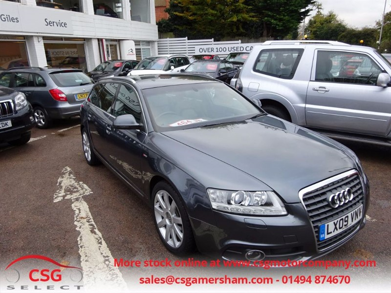used Audi A6 Avant TDI S LINE - H/LEATHER -FFSH - CRUISE-CLIMATE in amersham