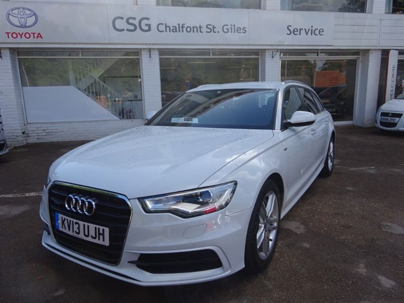used Audi A6 Avant BiTDI QUATTRO S LINE 313 - H/LEATHER - SAT NAV - FASH in amersham
