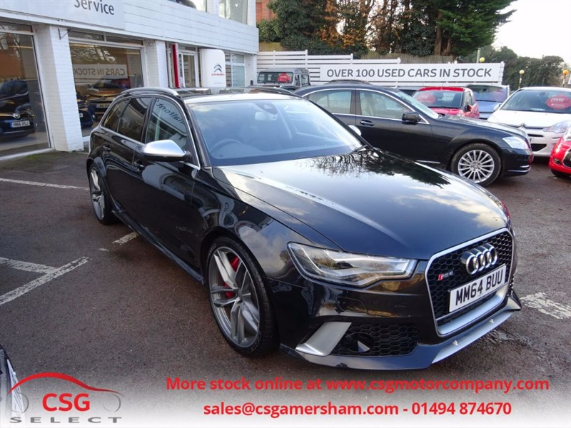 used Audi A6 RS6 AVANT TFSI V8 QUATTRO - PAN ROOF - DYNAMIC PACK - H/LEATHER -  in amersham