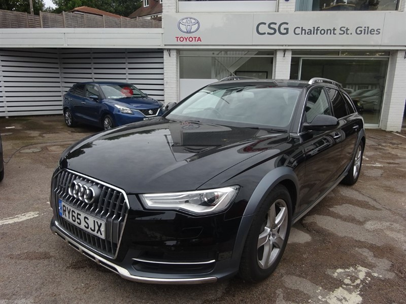 used Audi A6 allroad ALLROAD TDI QUATTRO - SAT NAV - FASH - H/LEATHER in amersham