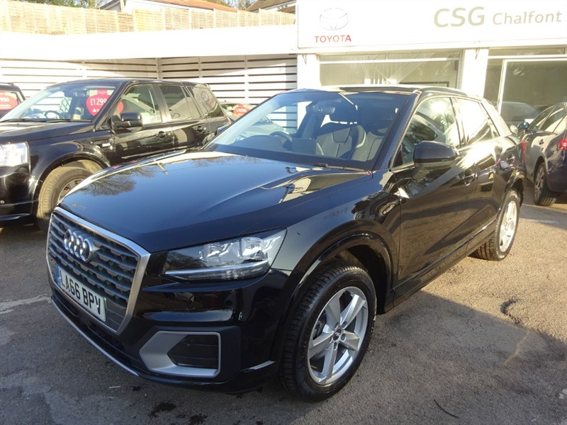 used Audi Q2 TDI SPORT - P/ROOF - H/SEATS - SAT NAV in amersham