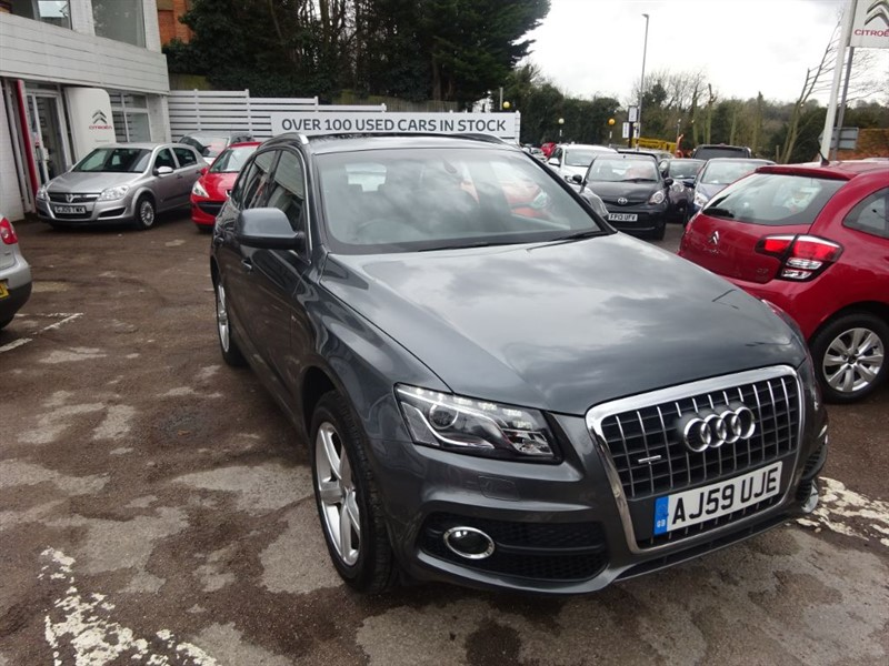 used Audi Q5 TDI QUATTRO S LINE - PAN ROOF - H/LAETHER - SAT NAV in amersham